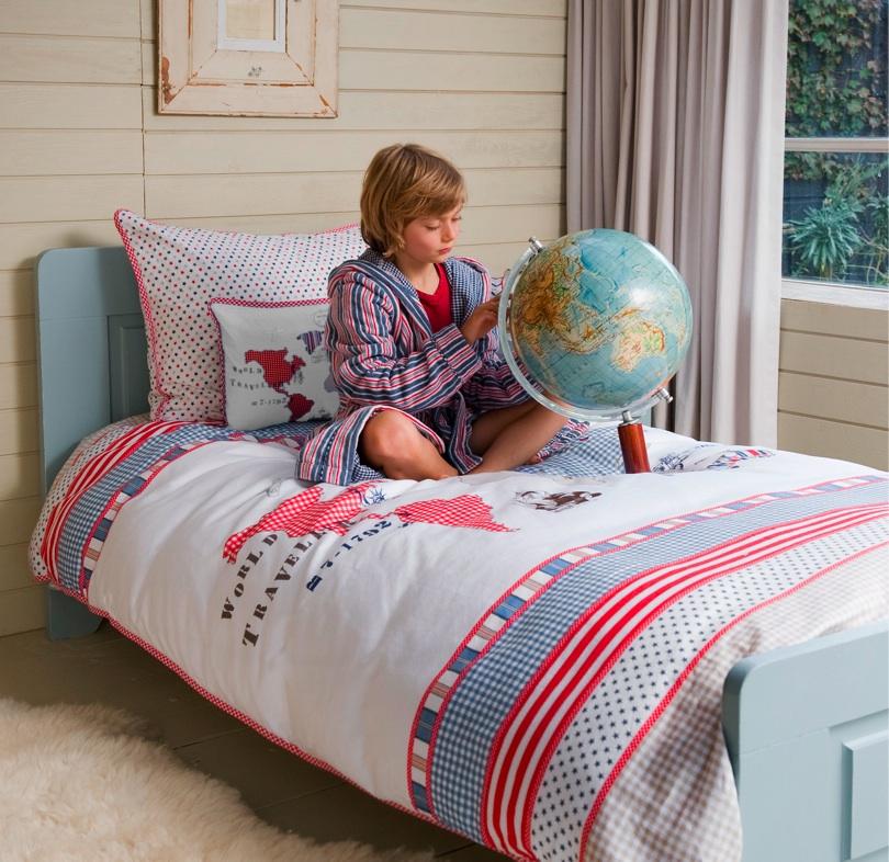 Room Seven Bettwäsche 135 X 200 Worldmap White Neu On Popscreen
